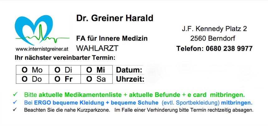 www.internistgreiner.at - Terminzettel